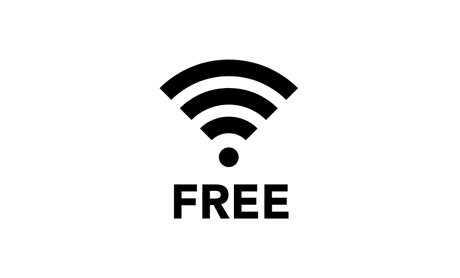 free wi-fiのアイコン画像